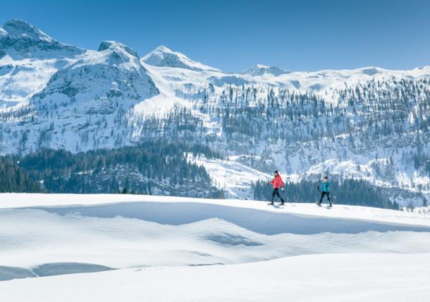 snowshoeing Obertauern