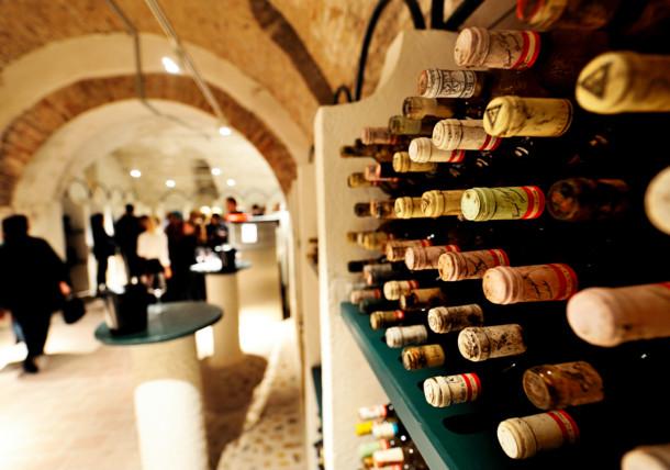 Weinflaschennah in Burgenland