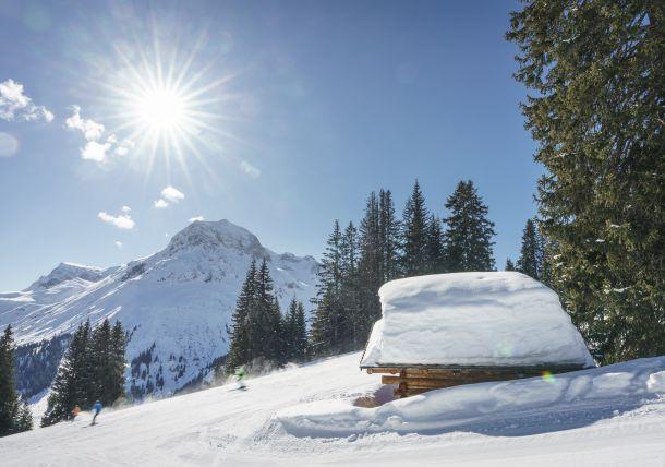 Skiing area Lech am Arlberg