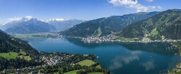 Zell am See is the charming village on the bluer-than-blue Lake Zell
