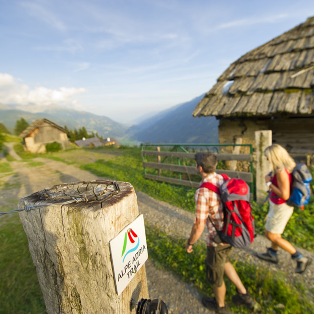 Unterwegs am Alpe Adria Trail