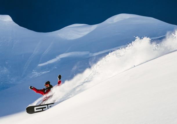 Snowboard à St. Anton am Arlberg