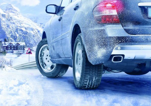 Tag bilen på vinterferie