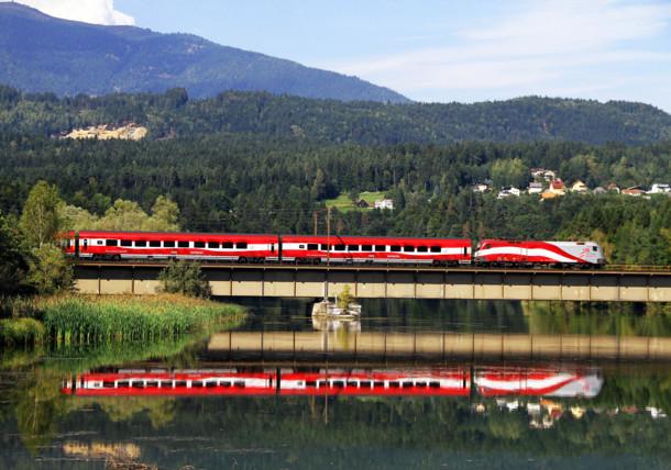 ÖBB Zug in Österreich