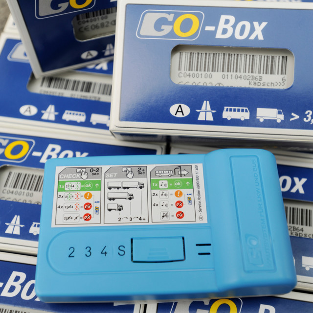 Go Maut On-Board Unit verpackt