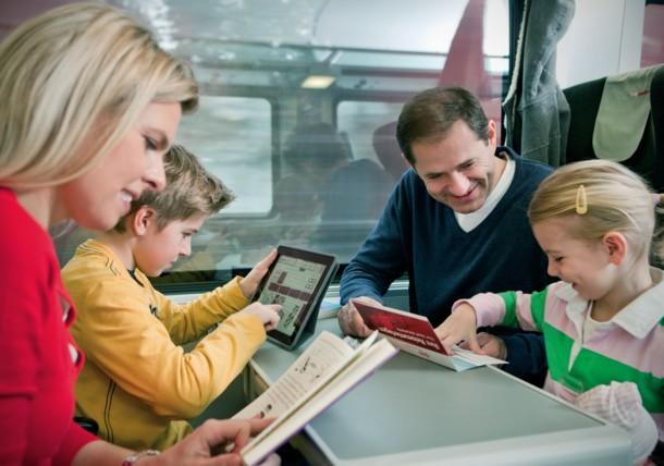 Viajar en el ÖBB railjet