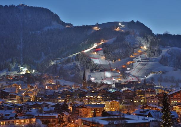 The Streif in Kitzbühel