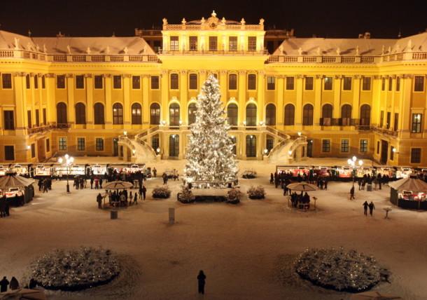 Weihnachtsmark Schloss Schönbrunn