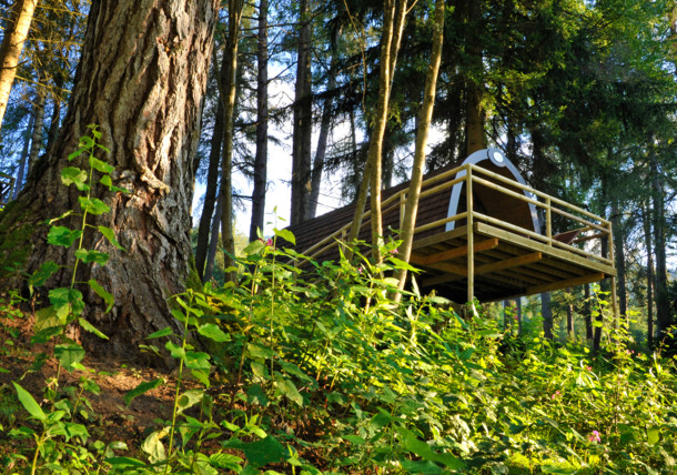 Panorama & Family Wood-Lodges im Ferienparadies Natterer See