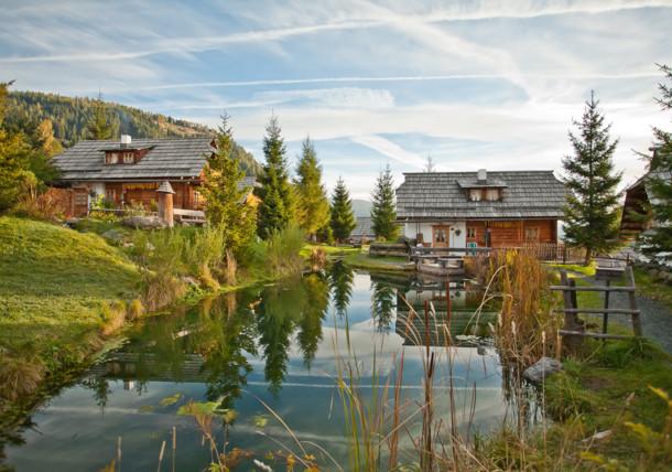 Satul alpin Seinerzeit în landul Carintia