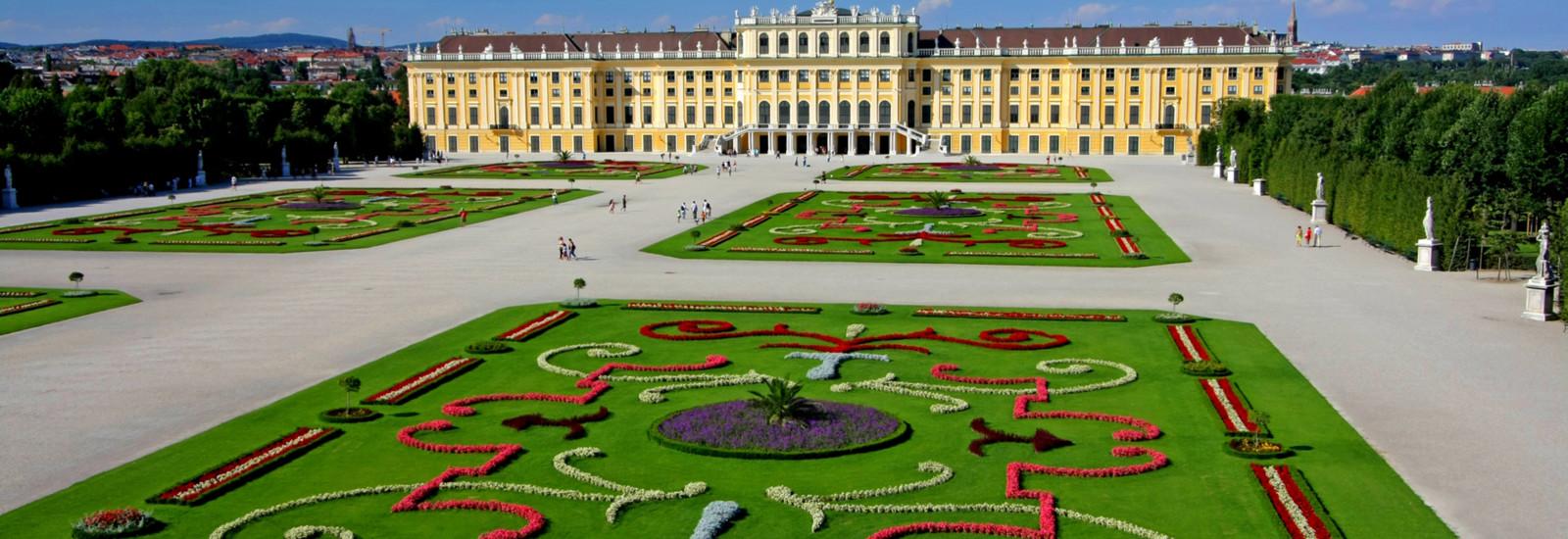Ansicht Schloß Schönbrunn