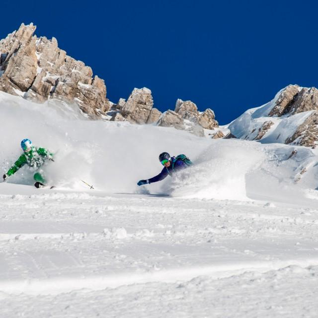 Skifahren Arlberg