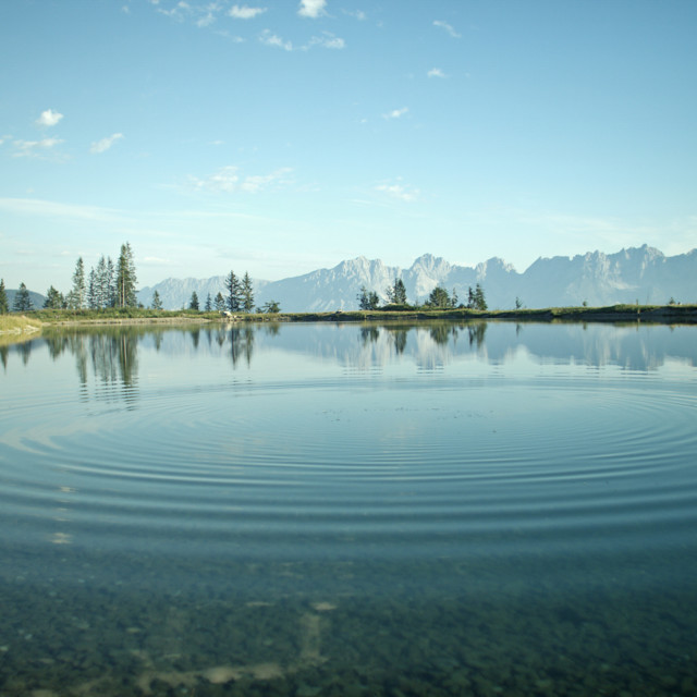 klarer Bergsee, Alpines Lebensgefühl