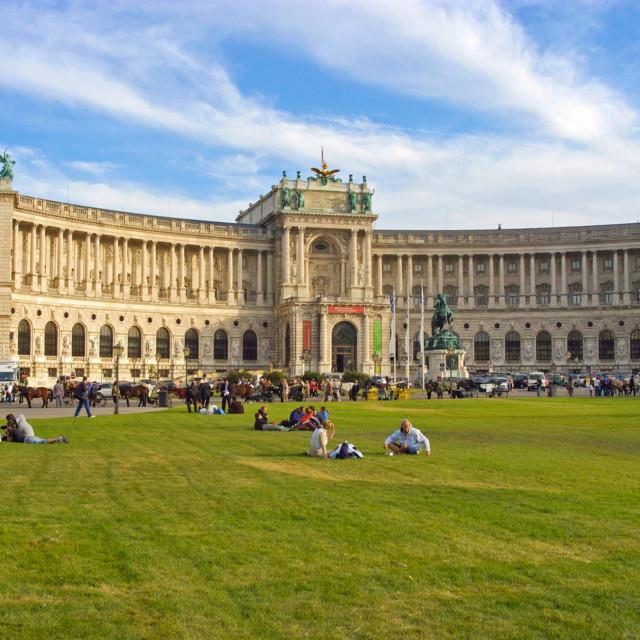 Heldenplatz und Hofburg Wien