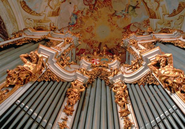 Organo di Bruckner nel Monastero di St.Florian