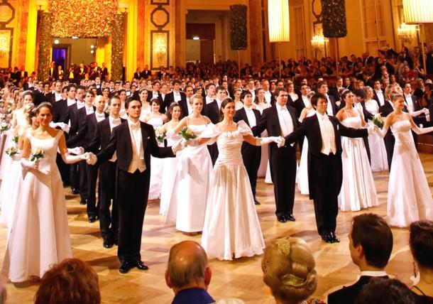 El baile y el vals de Viena