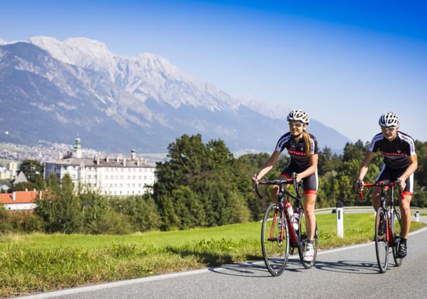 Cyklotrasa Innsbruck
