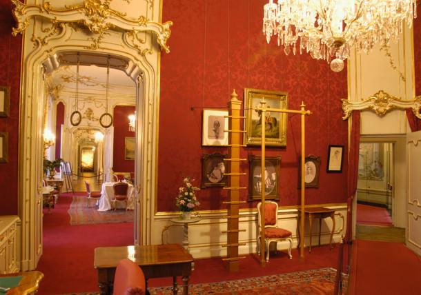 Kaiserappartements Wiener Hofburg - Toilette- und Turnzimmer der Kaiserin Sisi