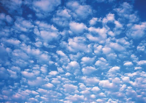 Himmel mit Wolken / Schäfchenwolken