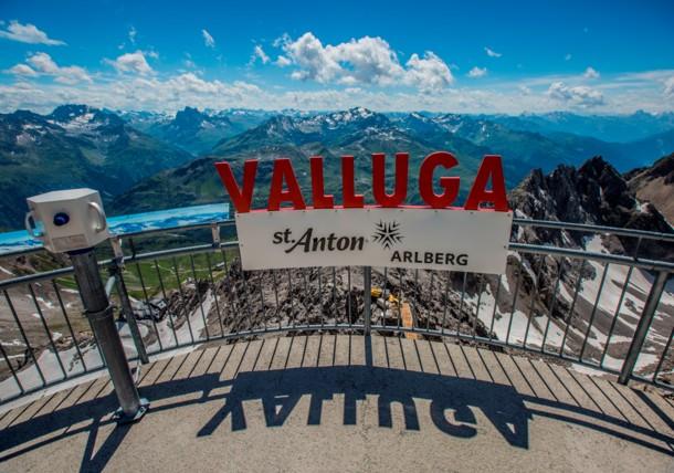 Valluga Viewingplatform St.Anton