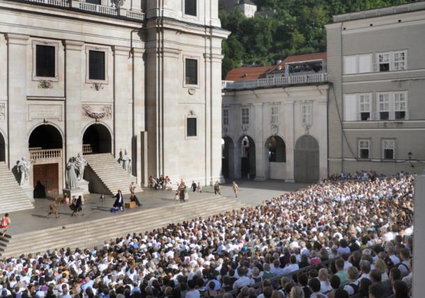 """Jedermann"" at the Salzburg Festival"