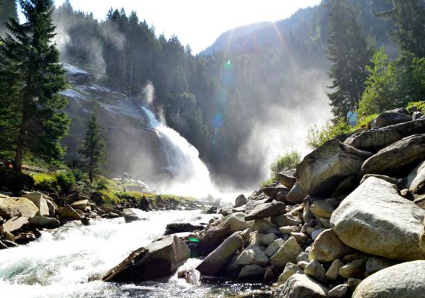 Nationalpark Hohe Tauern - Krimmler Wasserfälle