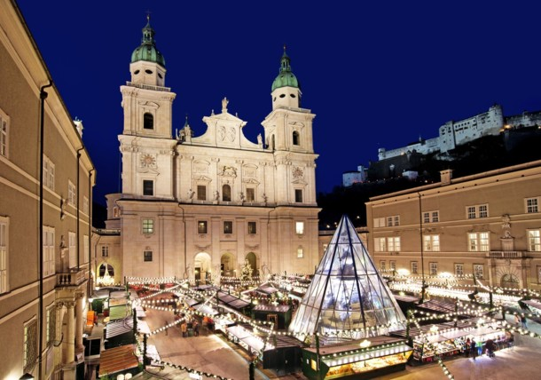 Salzburger Christkindlmarkt, Domplatz