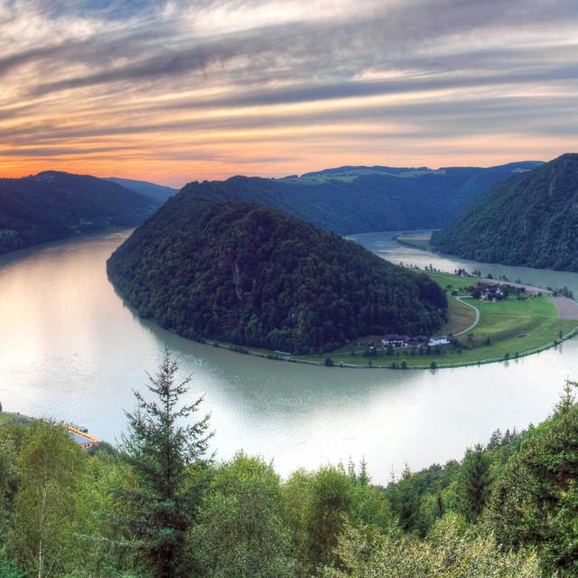 Petlja na Dunavu kod Schlögena, Gornja Austrija
