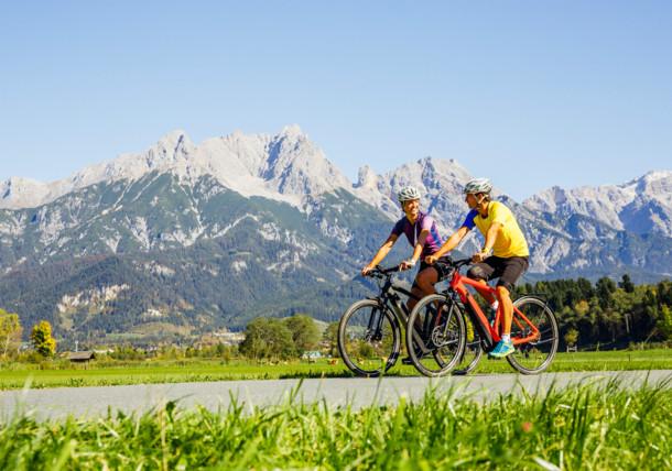 Tauernradweg bei Saalfelden