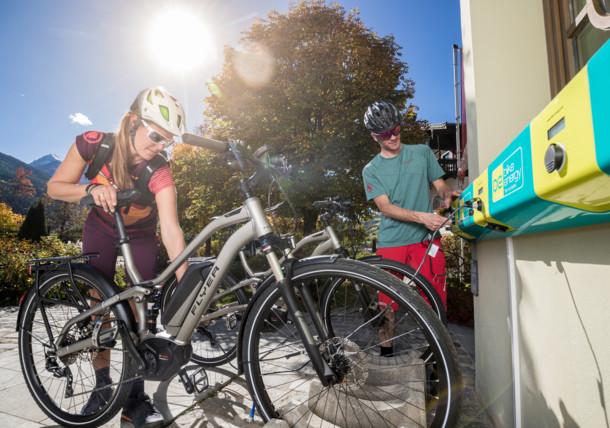 E-Bike cyklostezka Tauern