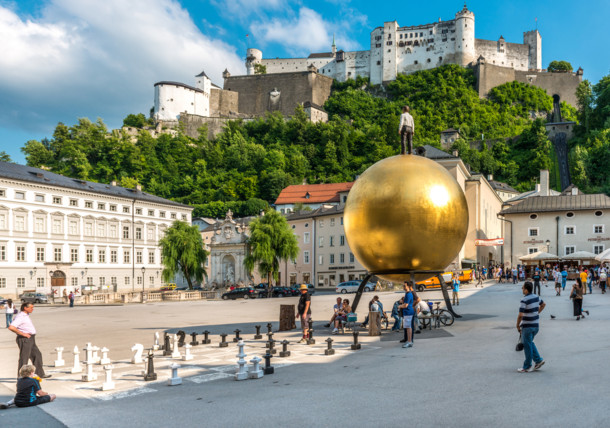 Kapitelplatz Salzburg