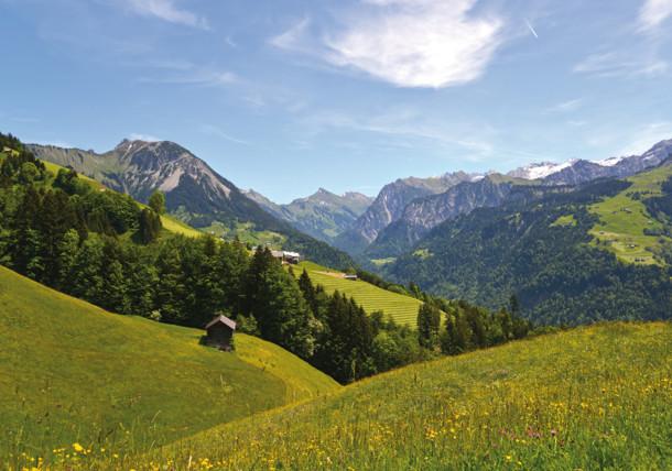 Großes Walsertal valley