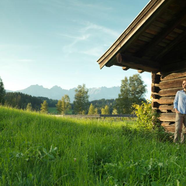Hütte beim Schwarzsee, Tirol
