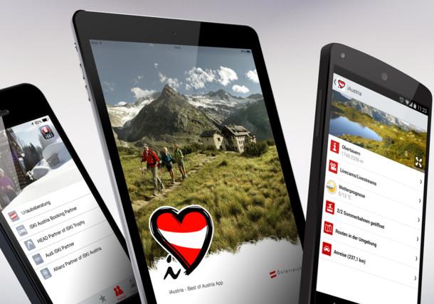 تطبيقات الهواتف الذكية لعطلتك في النمسا