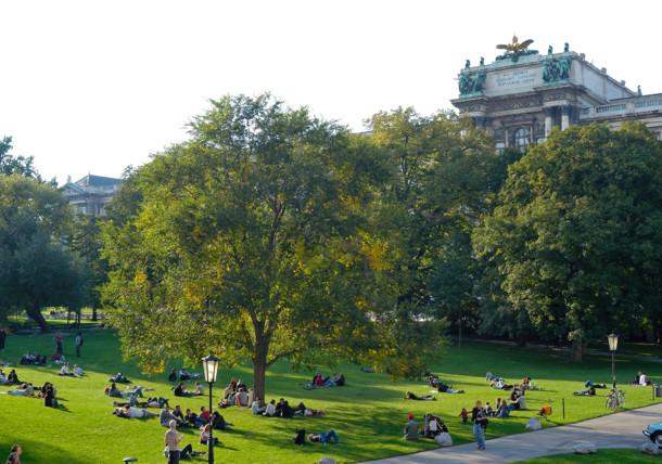 Le Burggarten, Vienne