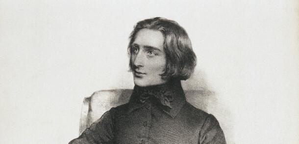 Porträt Franz Liszt