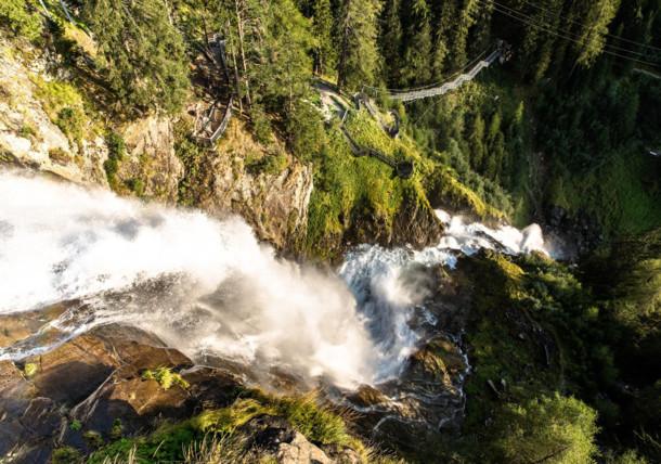 Stuibenfall, Wasserfall im Ötztal