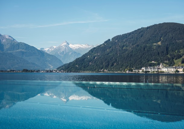 Crystal-clear waters at Lake Zell