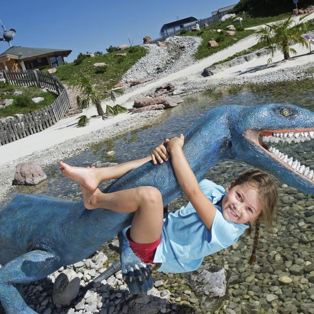 Triassic Park: Steinplatte Waidring