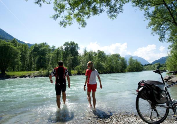 Descanso a orillas del río Drava