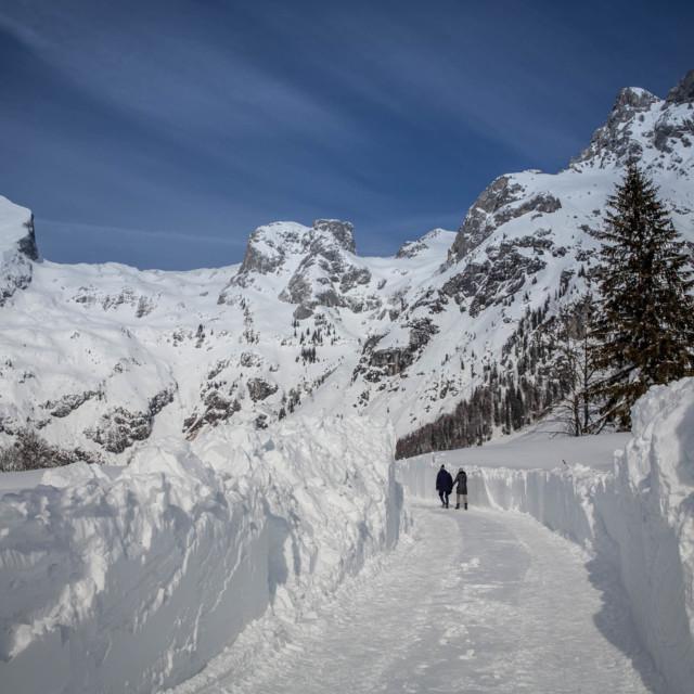 Winterspaziergang in Werfenweng