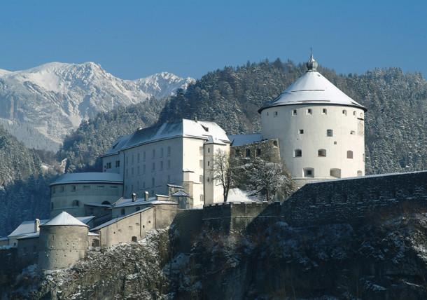 De Festung in Kufstein is een echte eyecatcher