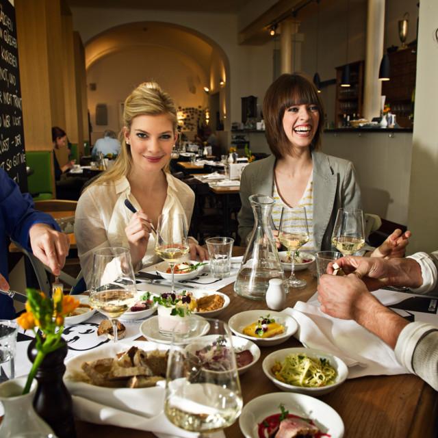 Essen und Trinken in Graz