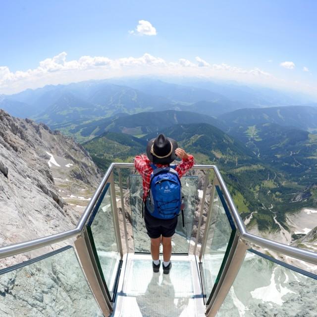 Dachstein Treppe ins nichts