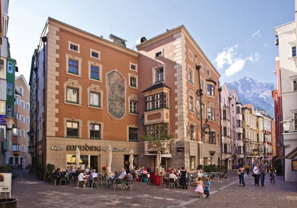 Altstadt Innsbruck - Café Munding