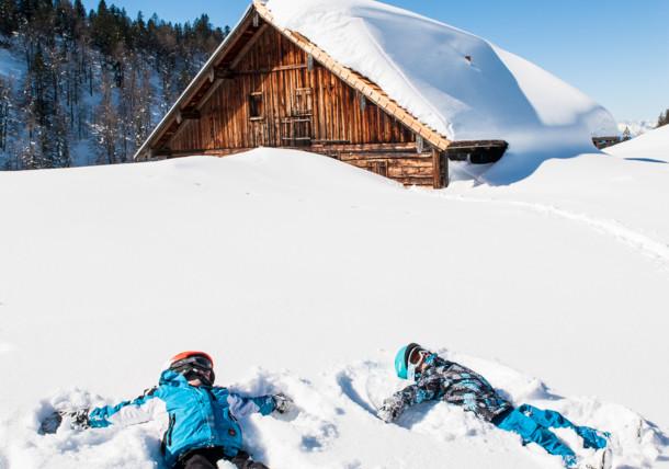 Snow angel Dachstein West