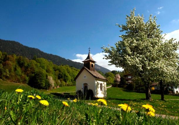 Kapelle in Breitenbach, Alpbachtal in Tirol
