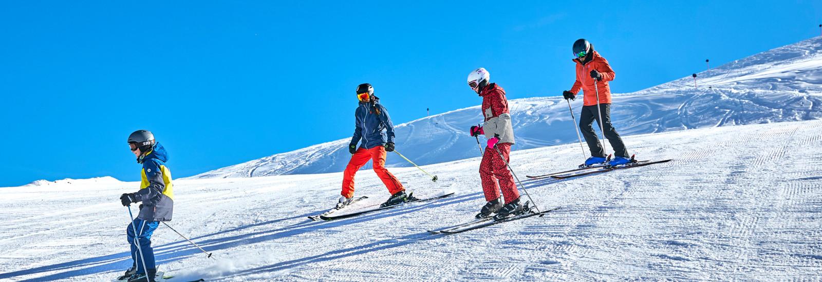Skifahren in See