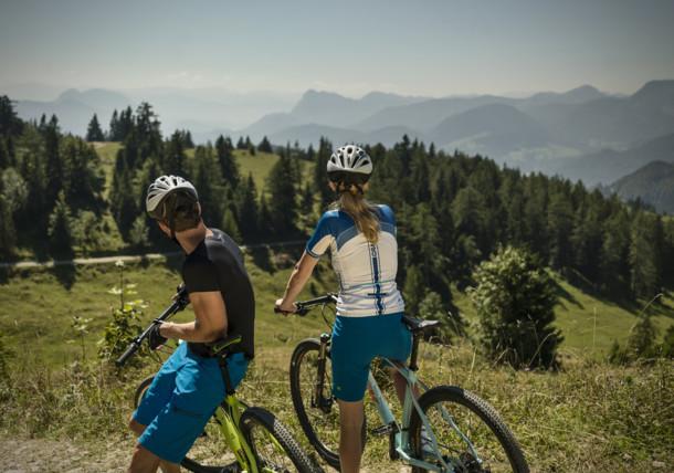 Stezky pro horská kola v okolí Kufsteinu