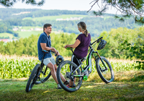 Rekreační cyklistika v Buckeligen Welt